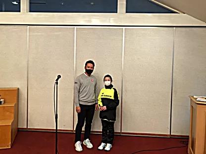 小学女子の部優勝・新井志穂選手
