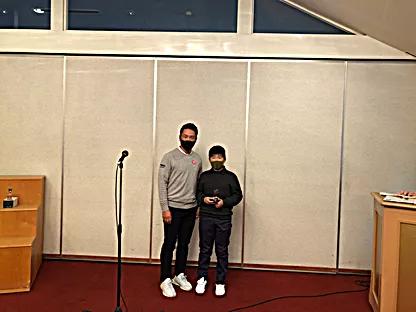 小学男子の部優勝・塩谷凛太郎選手