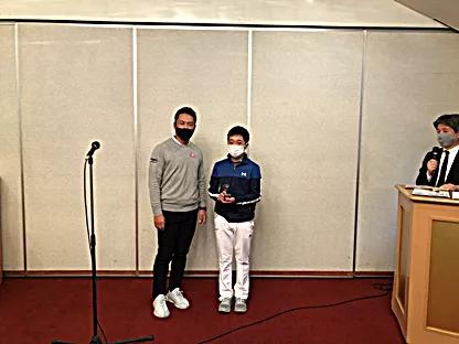 中学男子の部優勝・齊藤和瑛選手
