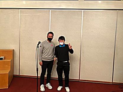 高校男子の部優勝・溝井浩太選手